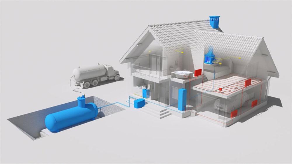 Проектирование системы газоснабжения